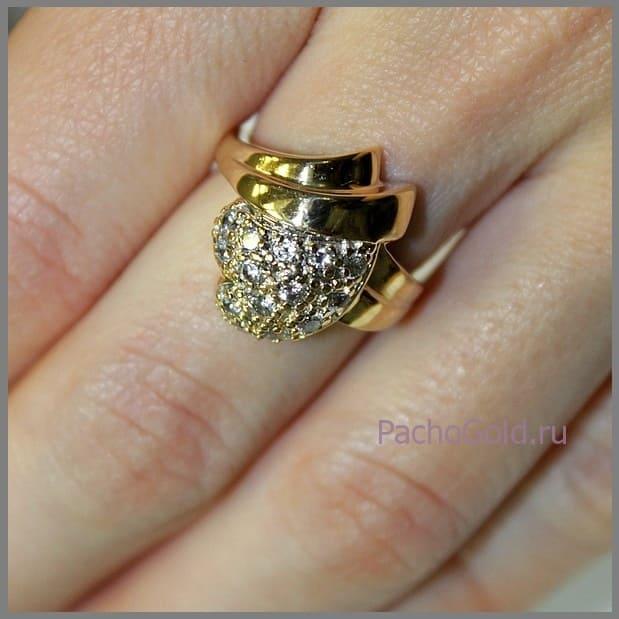 Кольцо Маркиза ручной работы
