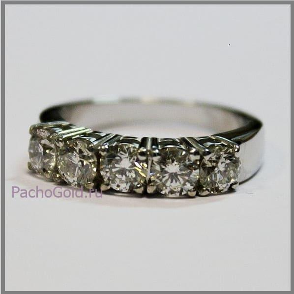 Кольцо Признание с большими бриллиантами