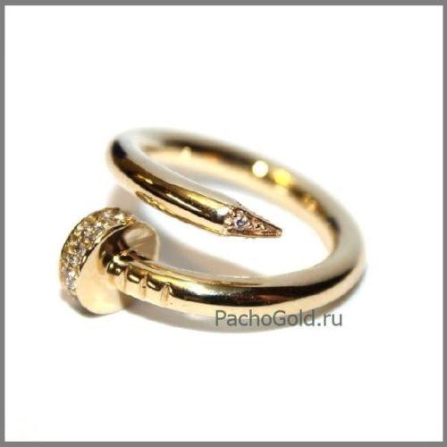 Кольцо для женщин Гвоздь из золота