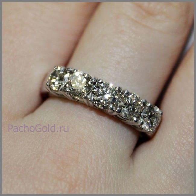Кольцо для женщины Признание на заказ
