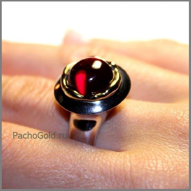 Кольцо для женщины с рубином на заказ Precious