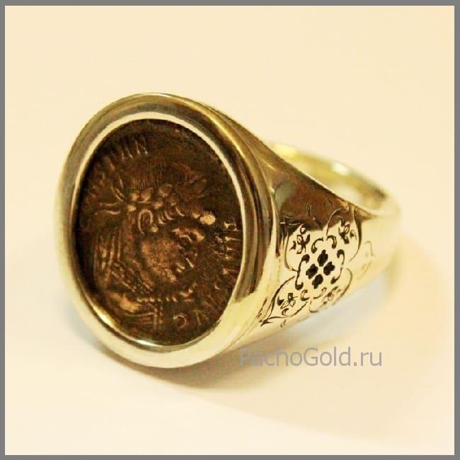 Кольцо из монеты на заказ
