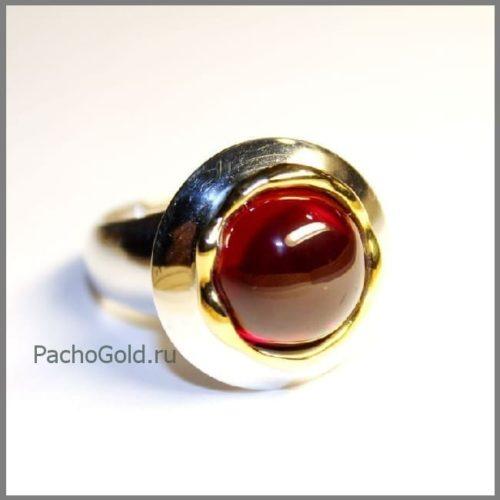 Кольцо из золота с кабошоном рубина precious на заказ