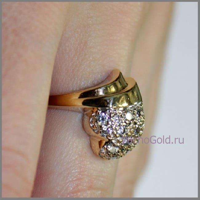 Кольцо на заказ для женщины Маркиза