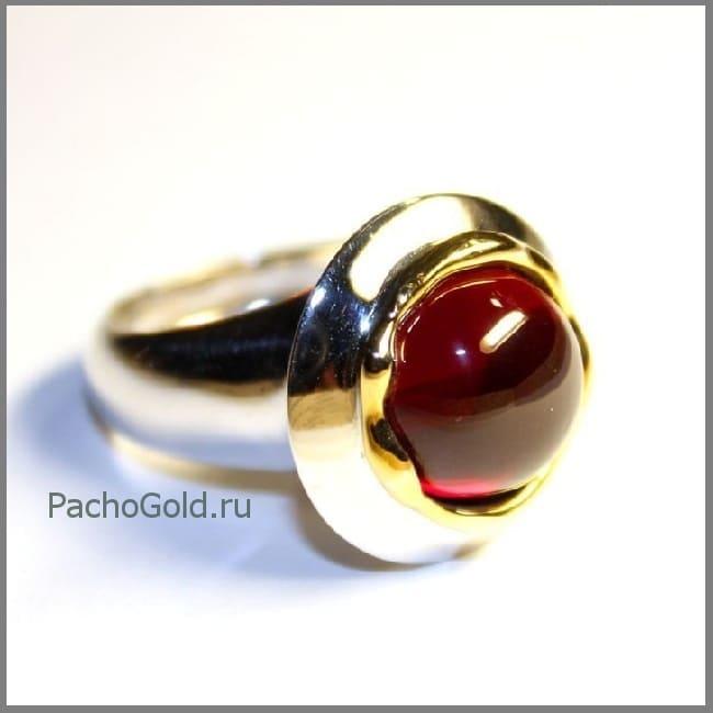 Кольцо с рубином Precious