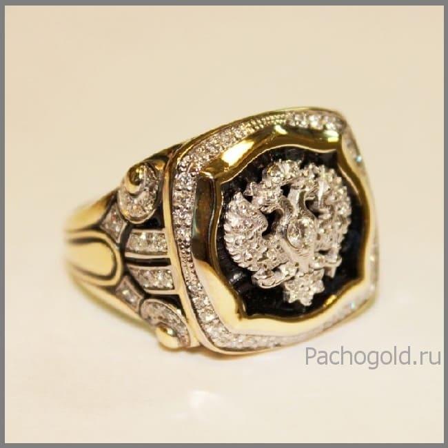 Мужское кольцо Император