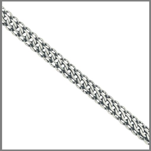 Цепочка плетения Итальянка из серебра