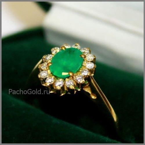 Женское кольцо Emerald