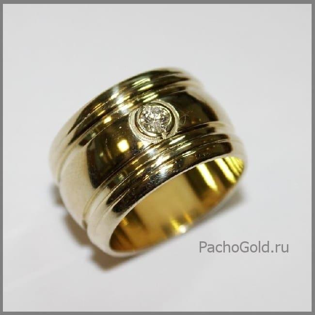 Женское кольцо ручной работы Солнечная дорога