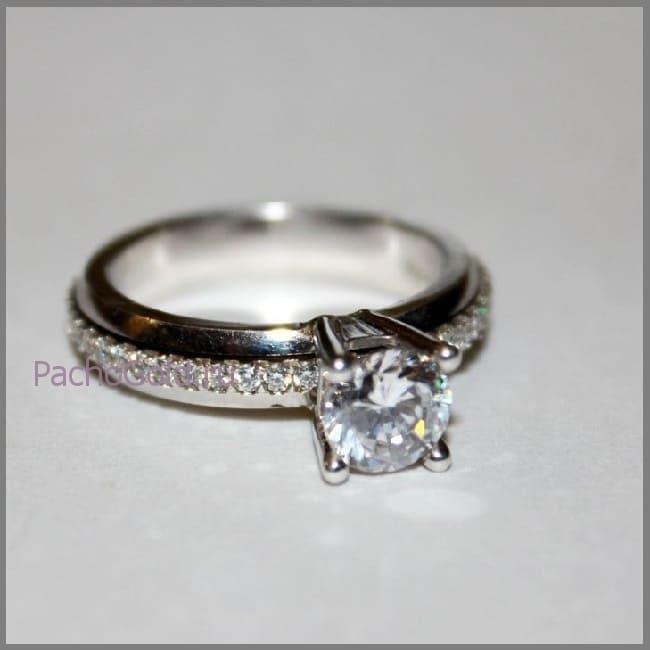 Женское золотое кольцо Luxury-Life