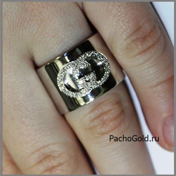 Кольцо ручной работы в стиле Guchchi