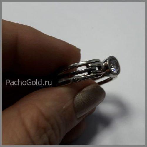 Эксклюзивное мужское кольцо ручной работы