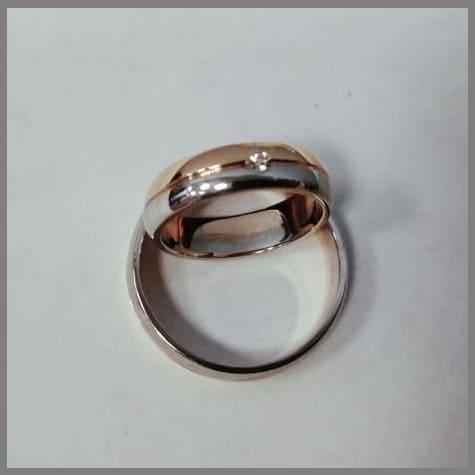 Изготовить обручальное кольцо из золота или серебра
