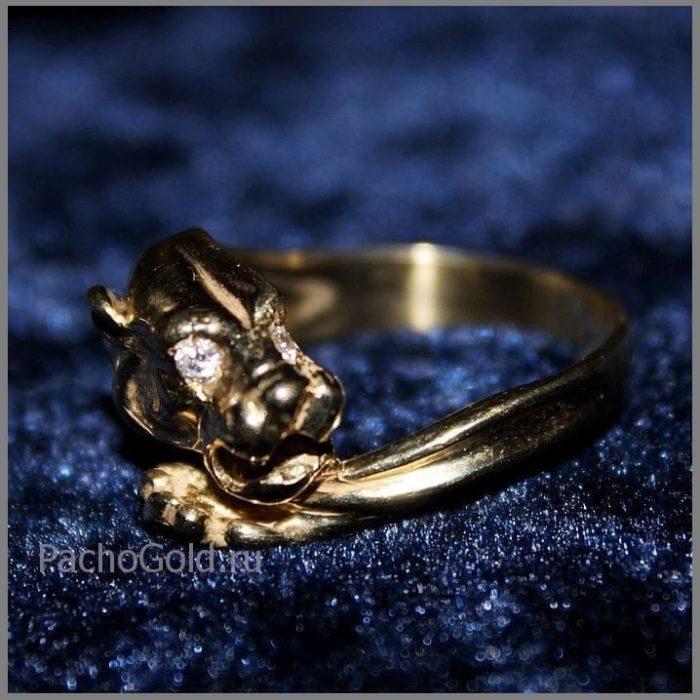 Кольцо для женщины на заказ Ласковая львица