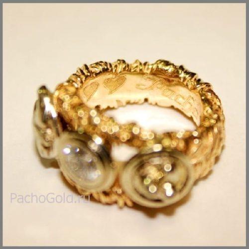 Кольцо для женщины на заказ Ласточкино гнездо