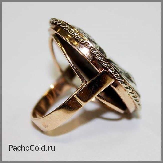 Кольцо камея для женщины на заказ