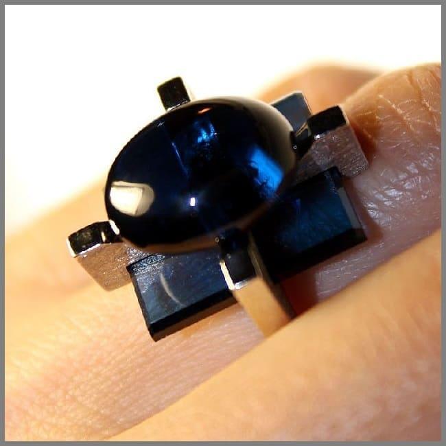 Кольцо необычного дизайна ручной работы