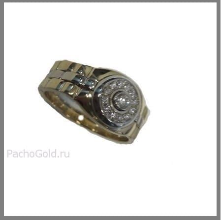 Мужское кольцо ручной работы Броня