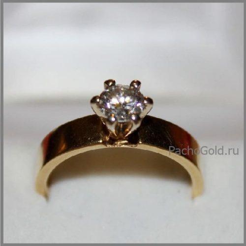 Кольцо с бриллиантом Мечта