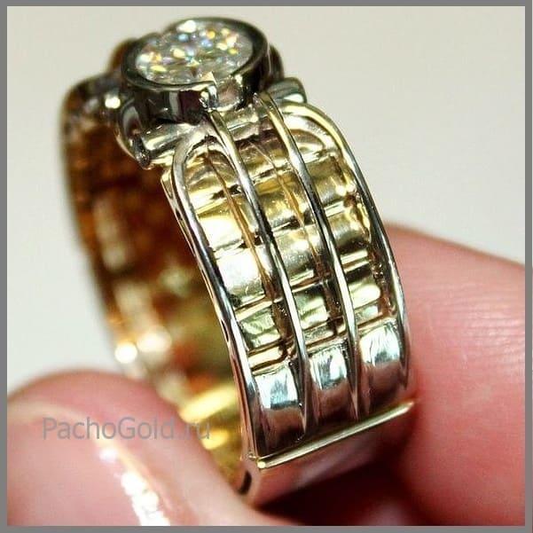 Мужское кольцо Alfa на заказ