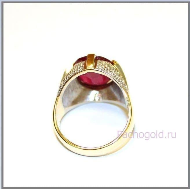 Мужское кольцо Faraon Red