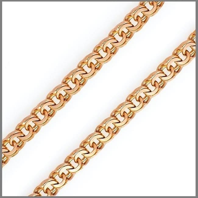 Плетение Бисмарк на заказ из золота и серебра
