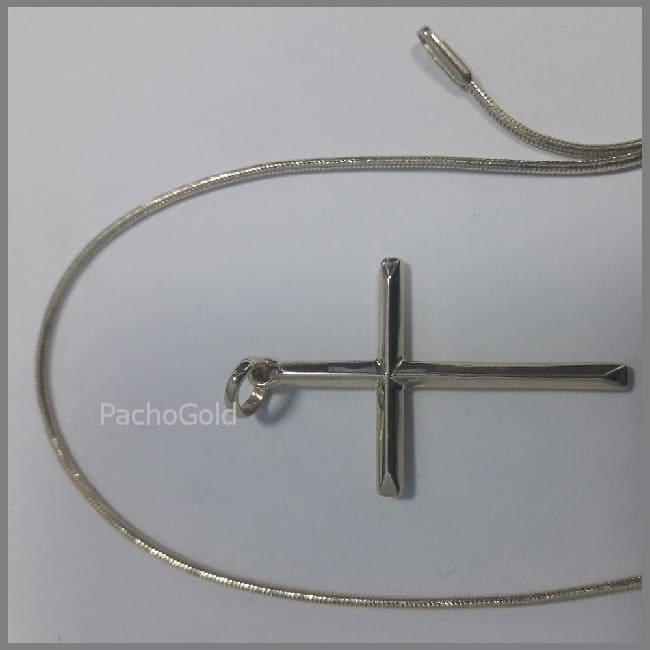 Прямой крест без распятия по персональным размерам