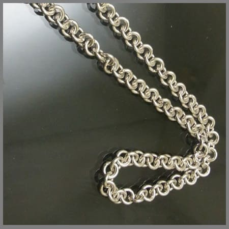 Серебряная цепочка Шопард
