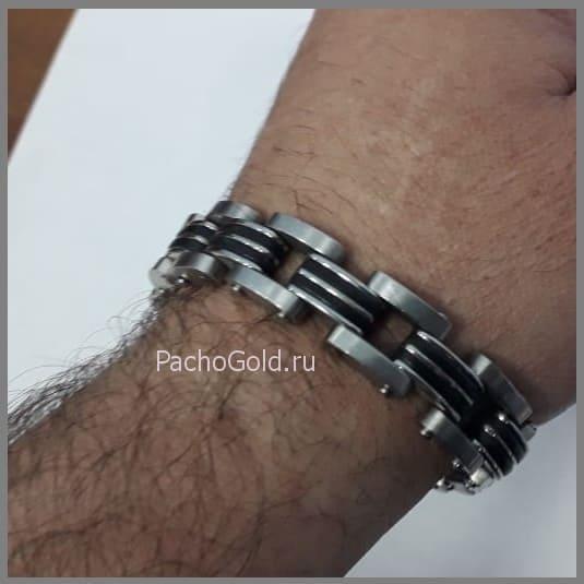 Стильный браслет для мужчины на заказ