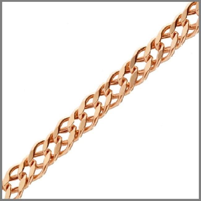 Золотая цепочка Ромб на заказ