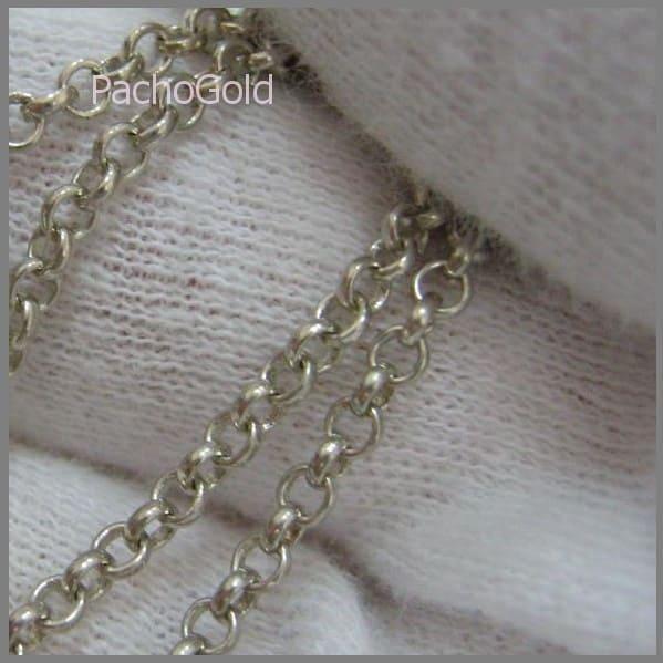 Ювелирная цепь Ролло из серебра