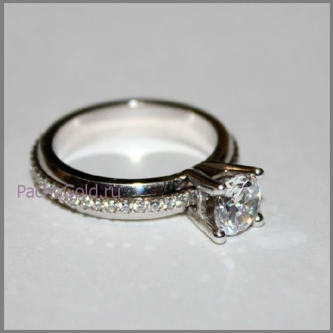 Заказать вращающееся кольцо у ювелира Luxury-Life