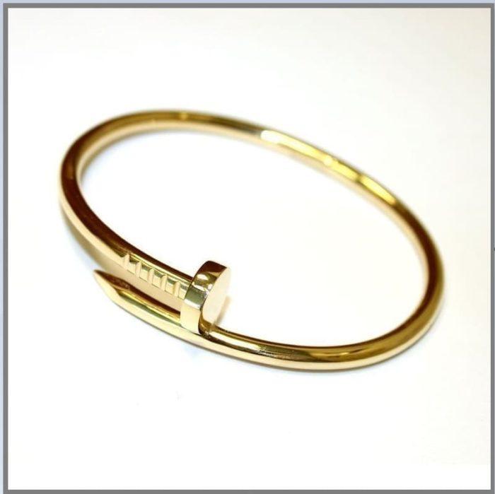 Женский браслет из золота Гвоздь без каммней