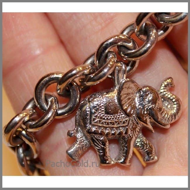 Женский браслет из золота на заказ