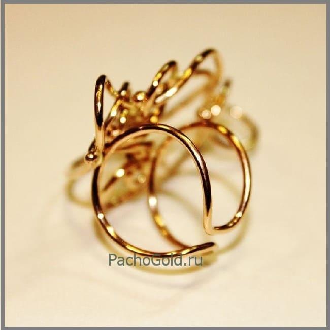 Женское кольцо из золота на заказ Зачарованные