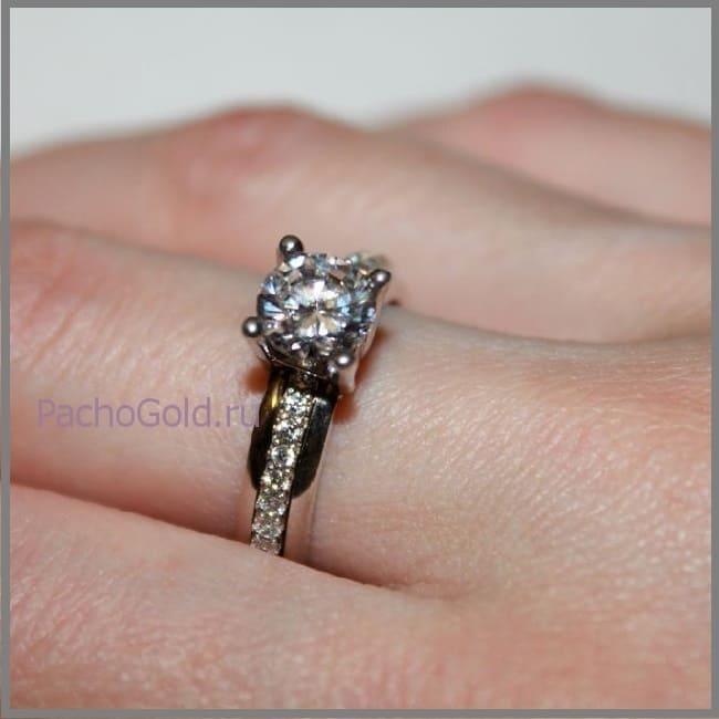 Женское кольцо, которое вращается, Luxury-Life