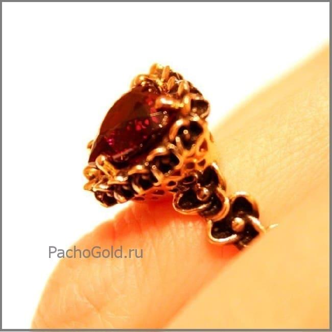 Золотое кольцо Гранатовое очарование