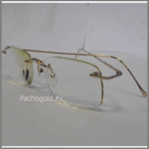 Очки из золота и серебра