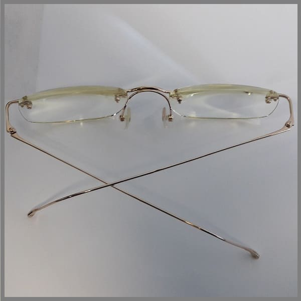 Золотые очки на заказ