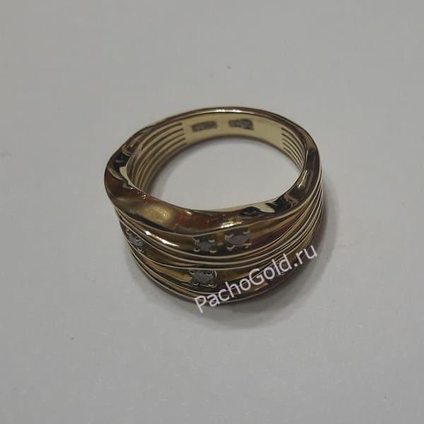 Ювелирное кольцо с бриллиантами на заказ
