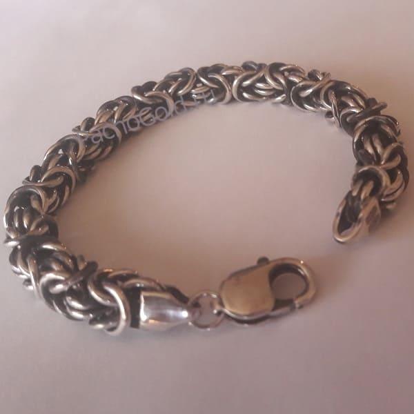 Золотые и серебряные браслеты Лисий хвост на заказ