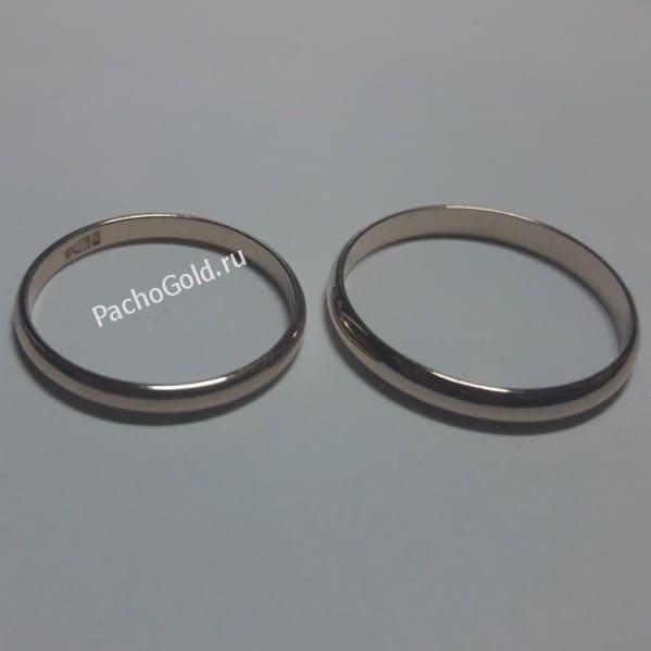 Традиционные обручальные кольца на заказ