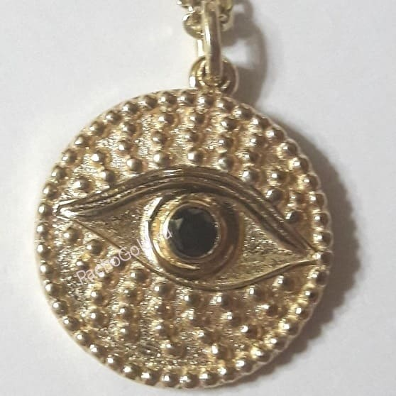 Золотой кулон Глаз