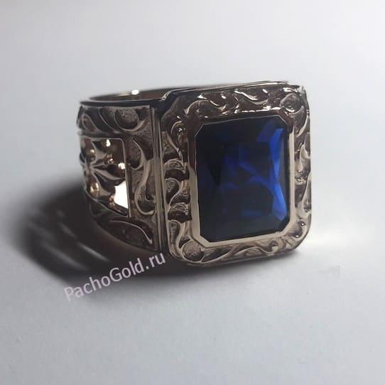 Украшение перстень из золота по индивидуальному заказу